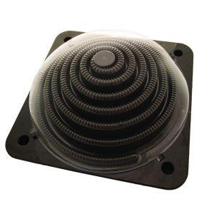 Interline solar heater pro dome 5 liter bovenkant