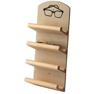 Brillenbakje voor 4 brillen voorkant