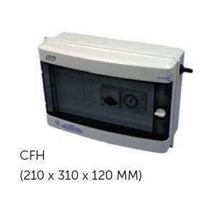 Elektrische schakelkast Cyrano filtratie+ Transfo 100W voorkant