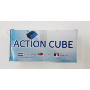 Action cubes vlokmiddel
