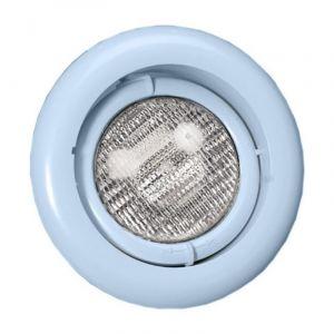 Zwembadlamp richtbaar - Lichtblauw voorkant