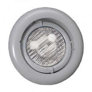 Zwembadlamp richtbaar - Lichtgrijs voorkant