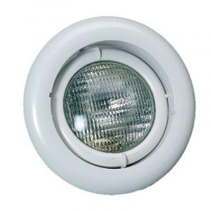 Zwembadlamp richtbaar - Wit voorkant