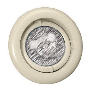 Zwembadlamp richtbaar - Zand/Creme voorkant
