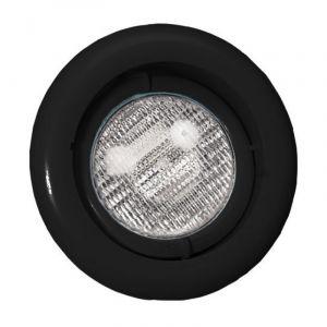 Zwembadlamp richtbaar - Zwart voorkant