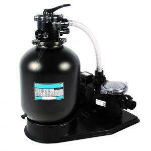 Zwembad filterset Azur 380 - Pentair zandfiltercombinatie voorkant