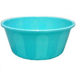 Blauwe visbowl vijver voorkant 2