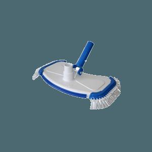 Ovale bodemzuiger voor foliebaden voorkant