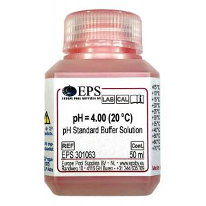 Buffervloeistof pH 4 voorbeeld