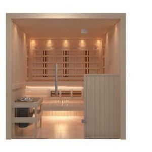 C-Quel infrarood/sauna combi. voorkant