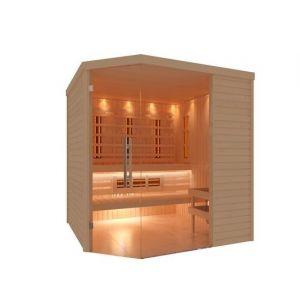 C-Quel infrarood/sauna combi 2 voorkant