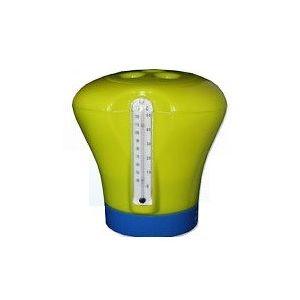 Chloordrijver met ingebouwde thermometer  voorbeeld