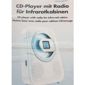 CD player met radio infrarood cabine voorbeeld