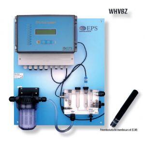 EPS pool system pH-CLM membraan cel voorbeeld