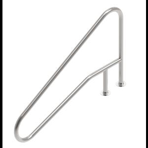 Handrails model FX02 - Flens voorbeeld