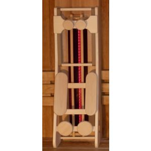 Sauna rugsteun HaLu - Red Cedar large voorkant