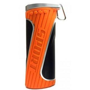 Bluetooth speaker oranje zijkant