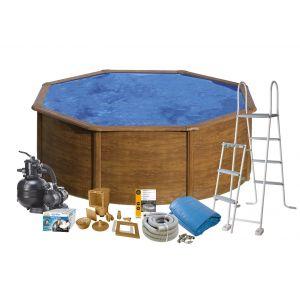 Swim & Fun Wood ø 350 x 120