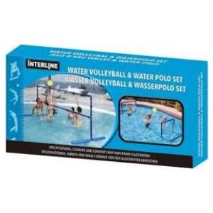 Interline water volleybal en waterpolo set voorbeeld