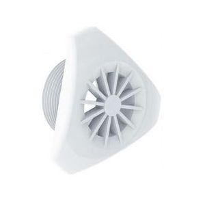 Inspuiter rooster design - wit voorkant