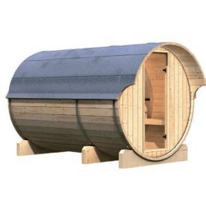 Interline barrelsauna Kotka 3 compleet voorkant