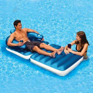 Drijfstoel model Pool & Patio Lounger in het water