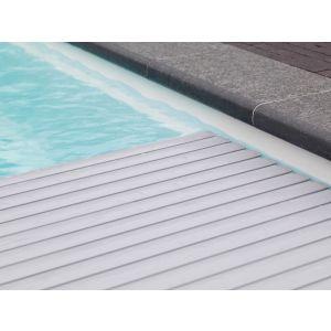 Roldeck PVC grijs lamellen voorbeeld 1