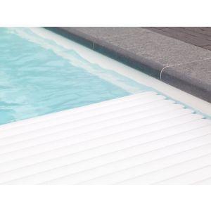 Roldeck PVC Witte lamellen voorbeeld 1