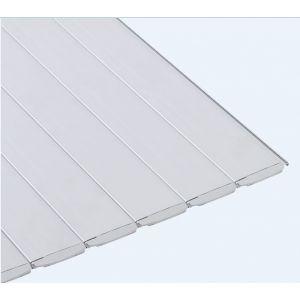 Aquadeck lamellen - PVC Grijs voorkant