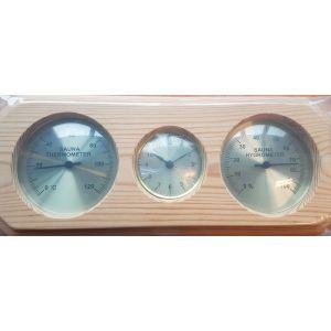 Thermo-Hygrometer met klok