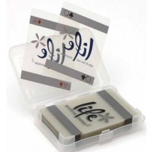 Waterbestendige speelkaarten verpakking