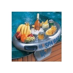 Opblaasbare Spa bar voorkant