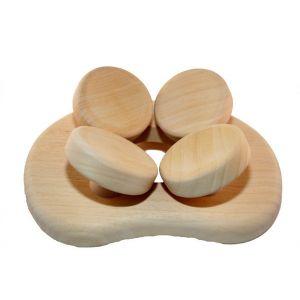 Sauna hoofdkussen HaLu Abachi voorkant