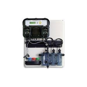 Doseersysteem Technopool pH-RX op paneel voorbeeld