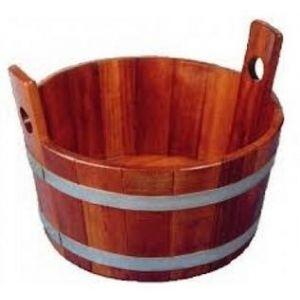 Voetenbad kambala hout
