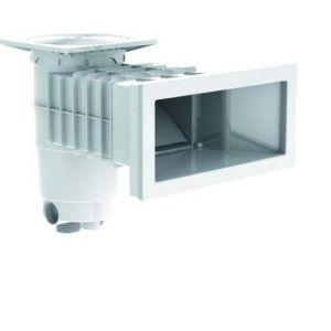 Skimmer beton - wit voorkant