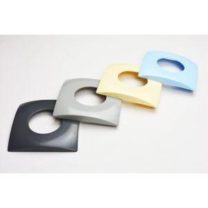 Inspuiter afwerkflens design - grijs