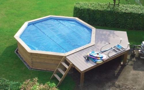 houten zwembad octoo